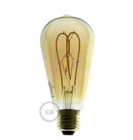 Edison ST64 lamp led 5W/E27 - rustiek - dimbaar