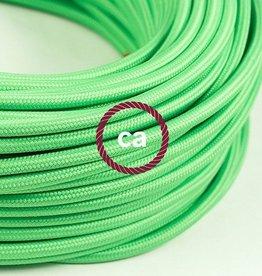 Stoffen snoer groen limoen - 3 aders
