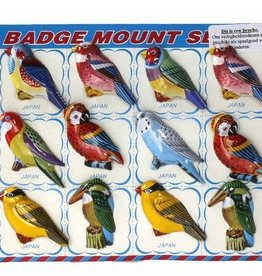 Broche vogels