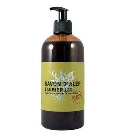 Savon de Provance Savon d'Alep Liquide 12% Laurier