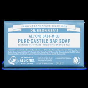 Dr. Bronner Dr. Bronner Baby mild zeep blok 140gram