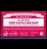 Dr. Bronner Dr. Bronner Baby rose zeep blok 140gram
