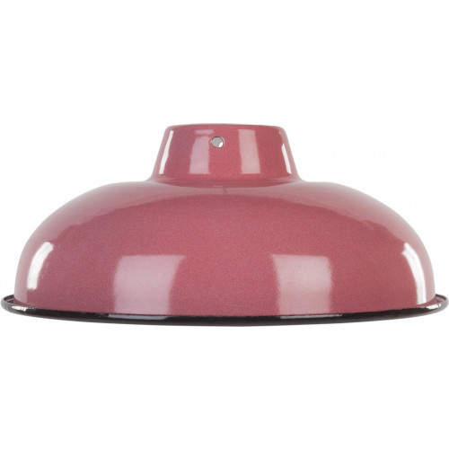 Emaille lamp pink - 25,5cm