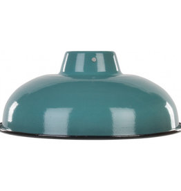Emaille lamp sage green - 25,5cm