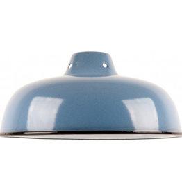 Emaille lamp denim - 25,5cm