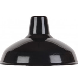 Emaille lamp black - 36cm