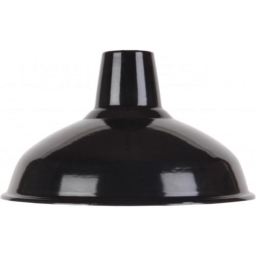 Emaille lamp black - 36cm