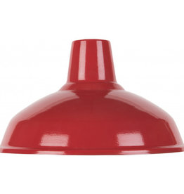 Emaille lamp red - 36cm