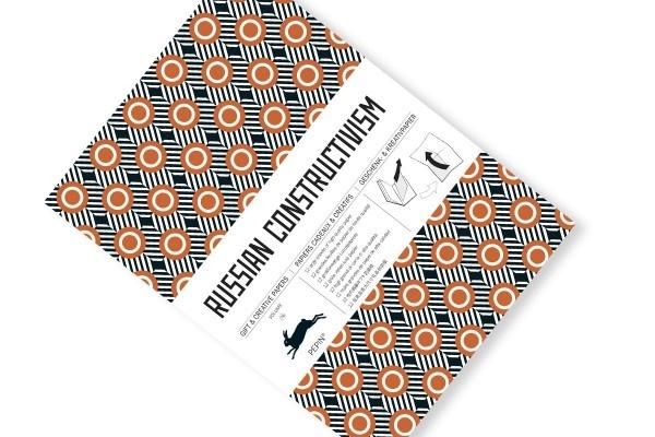 Gift wrap russian constuctivism