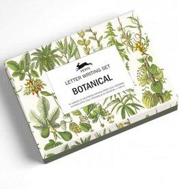 Letter writing set botanical