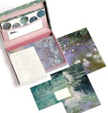 Letter writing set Claude Monet