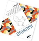 Origami book Art deco