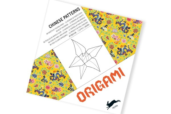 Origami book Chinese patterns