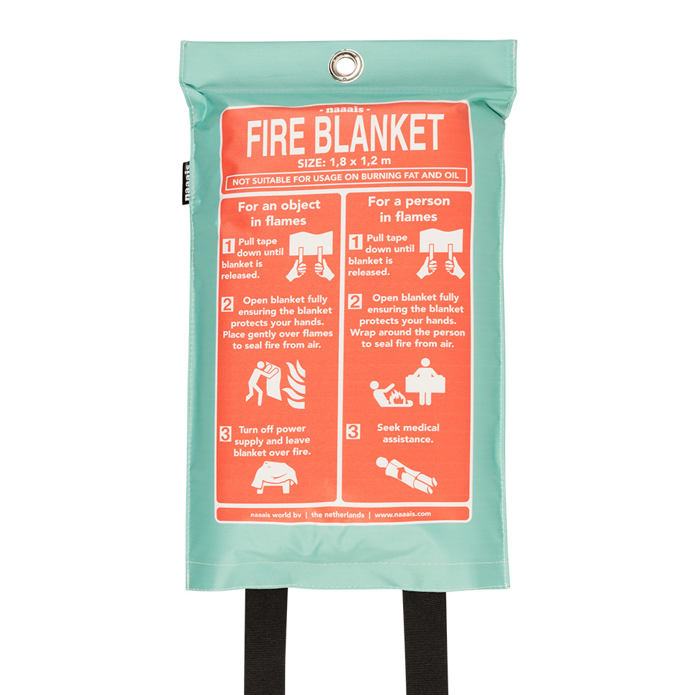 Naaies Fire blanket Campervan