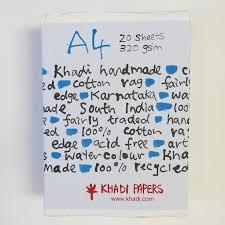 Khadi Papers Khadi katoen papier A4 320 gsm