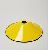 Emaille lamp yellow - 21cm