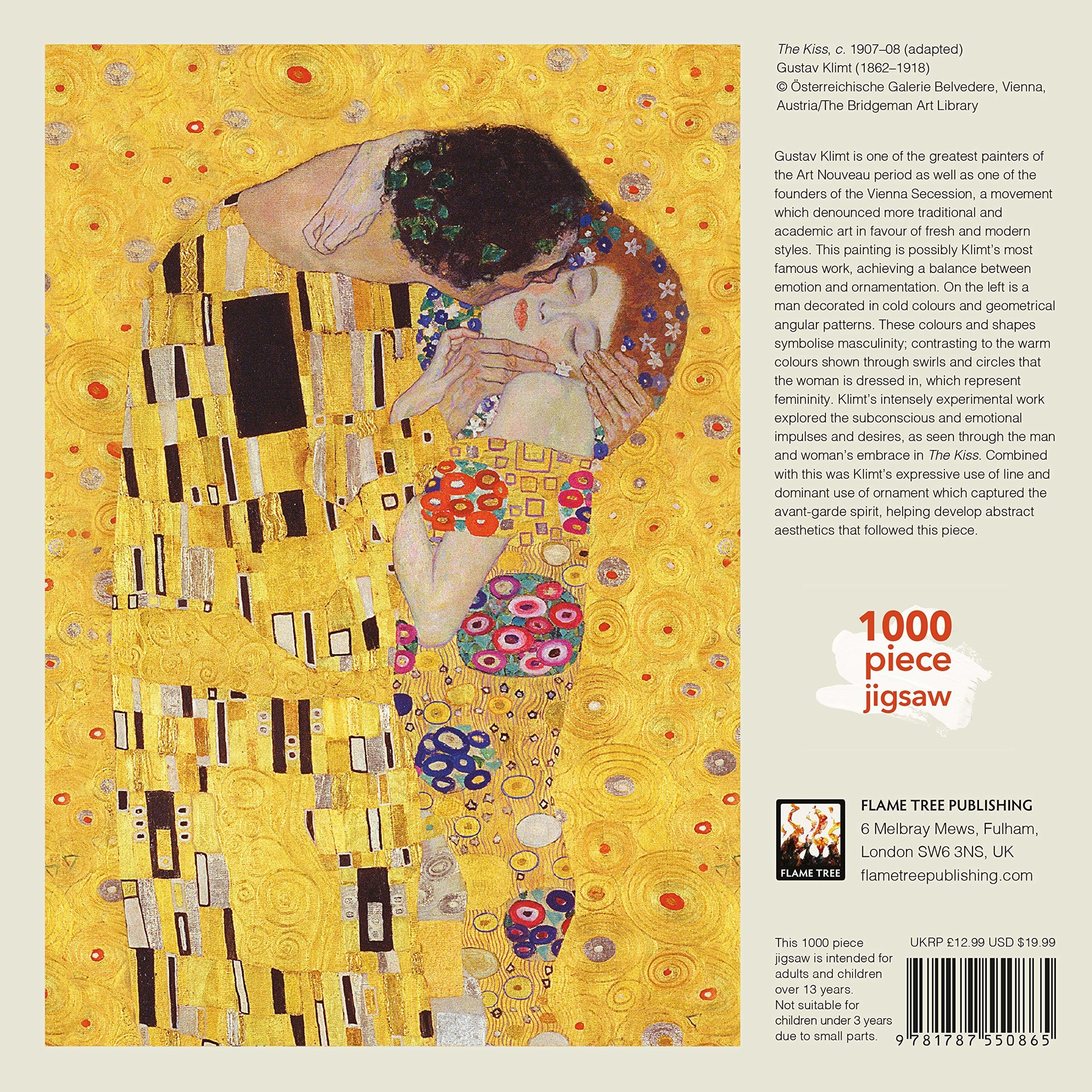 Puzzel The kiss