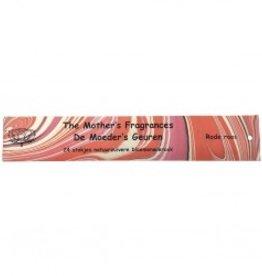 Moeders geuren Rode roos 24 stokjes