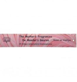 Moeders geuren Rozen en viooltjes 24 stokjes