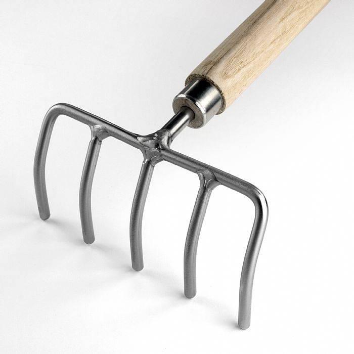 Sneeboer Kinderharkje - 75cm steel