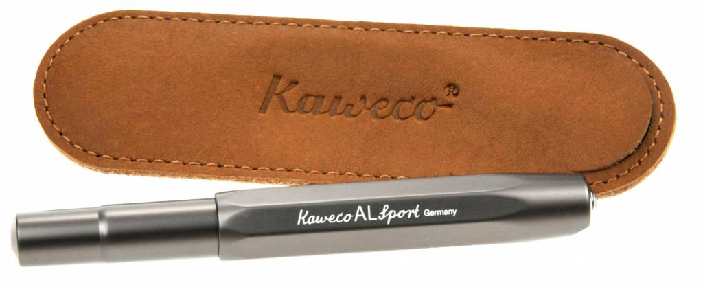 Kaweco Lederen Etui Eco Sport Brown 1P