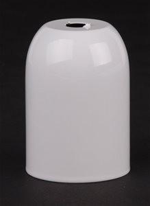 Kap voor E27 fitting metaal wit