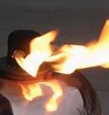 Tumble Torch zwart small