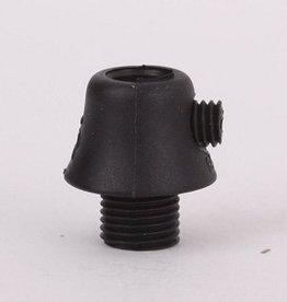 Trekontlasting zwart conisch 8mm