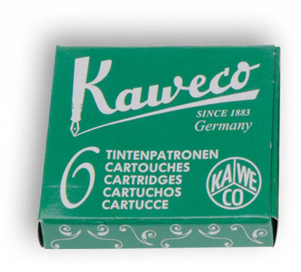 Kaweco Inktpatroon green 6
