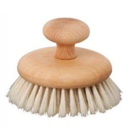 Redecker Massageborstel met houten knop - 10cm