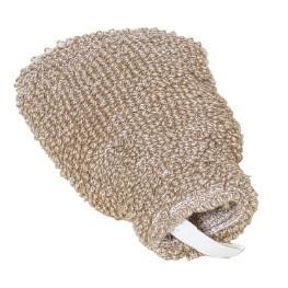 Redecker Vlas katoen  massage handschoen