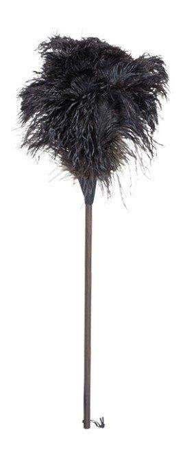 Redecker Plumeau struisvogel 80 cm donkere steel