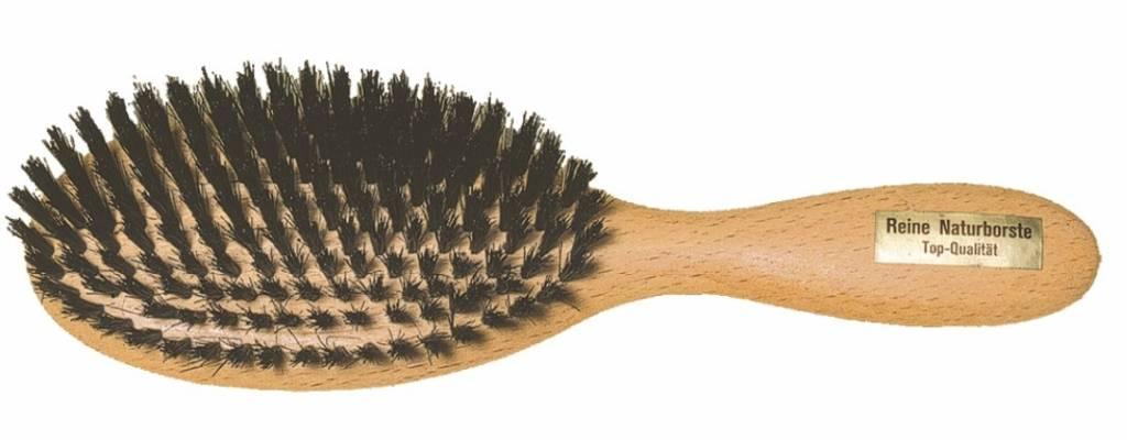Redecker Haar borstel beuken plat 10 rijen - 23cm