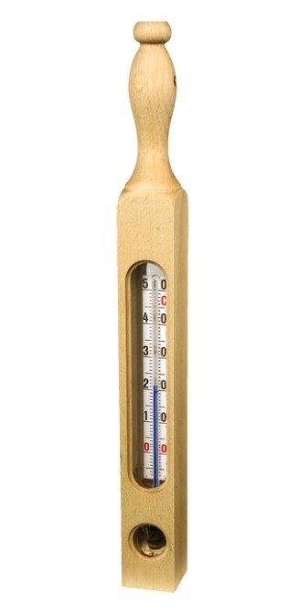 Redecker Badthermometer geolied beuken - 25cm
