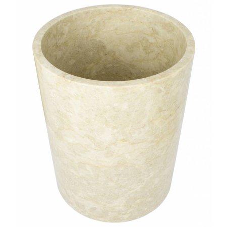 Indomarmer Marmor Papierkorb Banda
