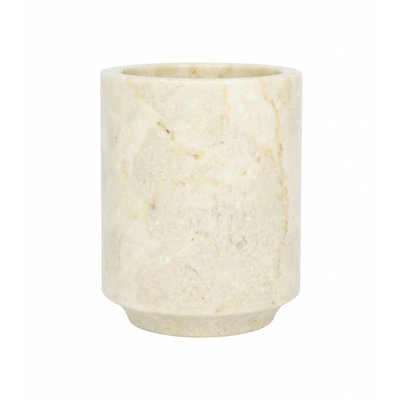 Marble Toothbrush Cup Banda