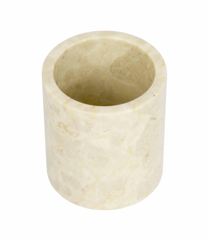 Indomarmer Marmor Zahnbürstenbecher Banda