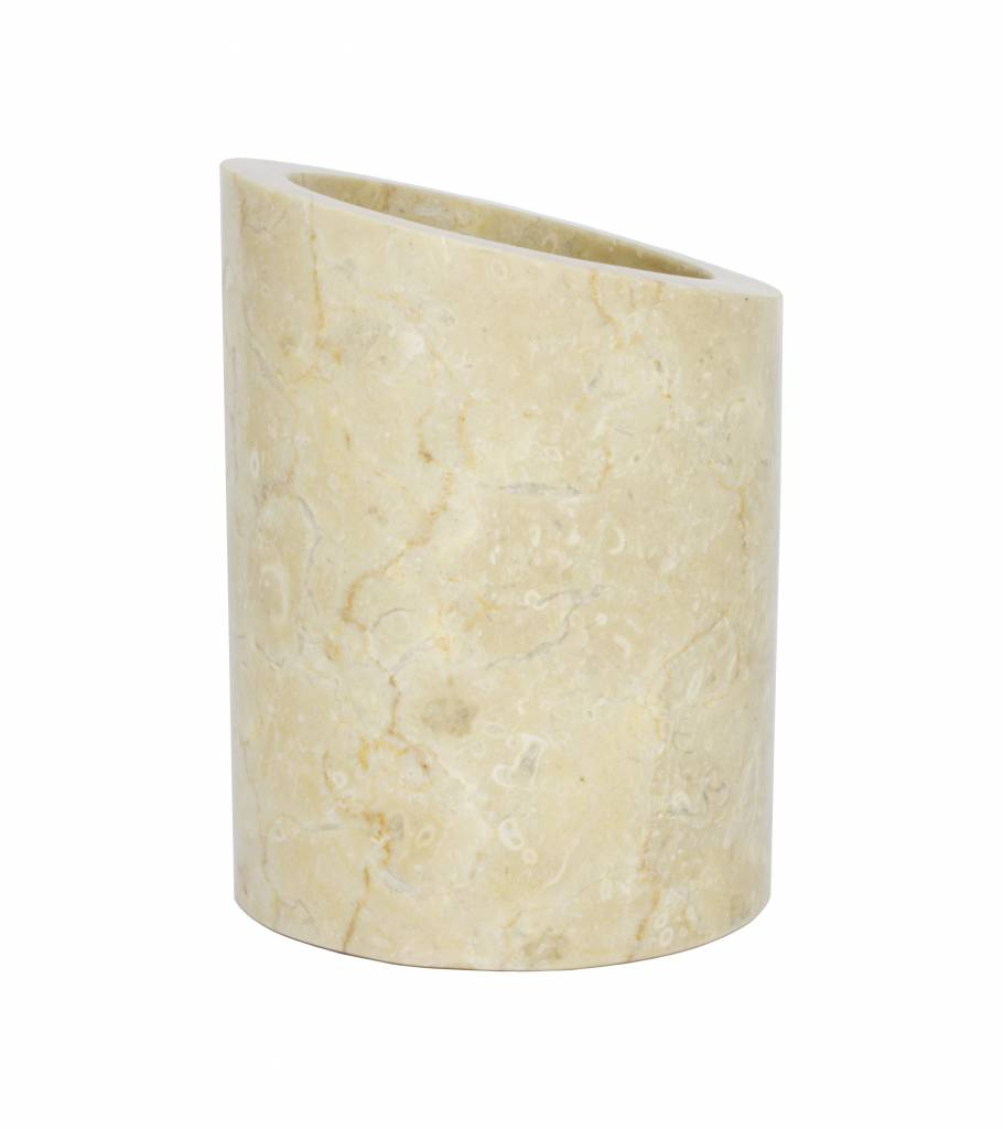Indomarmer Marmor Toilettenbürstenhalter Rangga