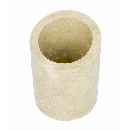 Indomarmer Marmeren Toiletborstelhouder Rangga