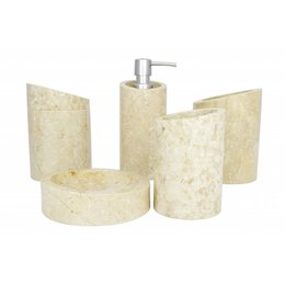 5-piece Marble bath set Rangga