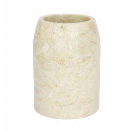 Indomarmer Marmor Zahnbürstenbecher Madewi