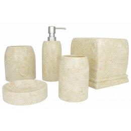 Indomarmer 5-piece marble bath set Madewi