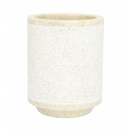 Indomarmer 5-Teilige Marmor Badeset Soemba