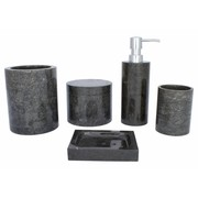 Indomarmer 5-piece Marble bath set Sumatra