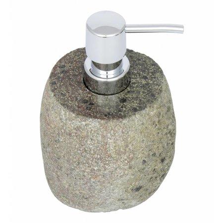 Indomarmer River stone Soap dispenser Flores