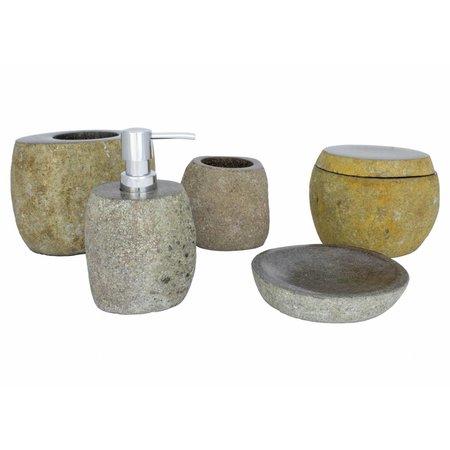 5-piece River Stone bath set Flores