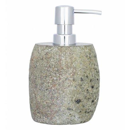Indomarmer 5-piece River Stone bath set Flores