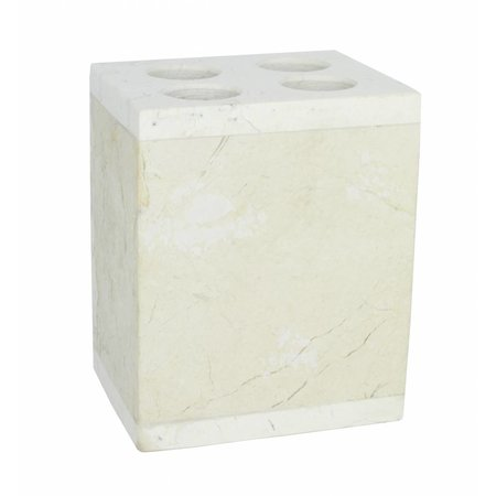 Indomarmer 4-Piece Marble Bath Set Bali