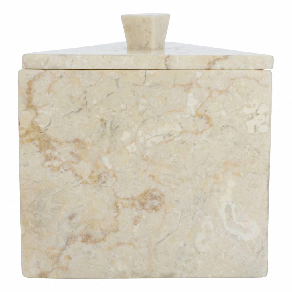 Indomarmer Marmor Schmuckdose Batu