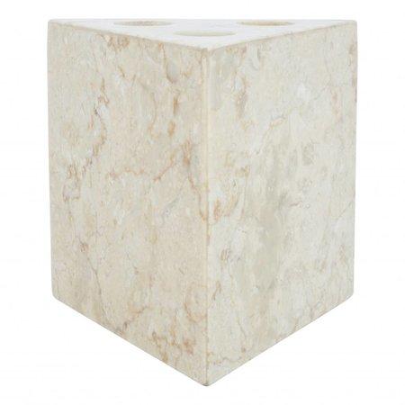 Indomarmer Marmor Zahnbürstenhalter Batu